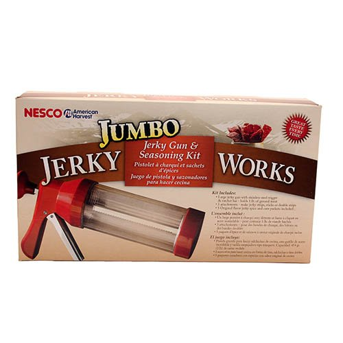 Jerky Making Kit with Gun and Spices