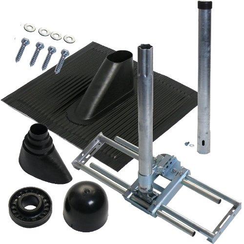 a s sat 59130 dachsparren montageset f r antennen 100 cm schwarz. Black Bedroom Furniture Sets. Home Design Ideas