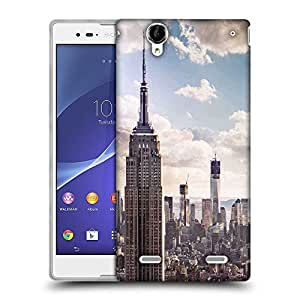 Snoogg Building And Cloud Designer Protective Phone Back Case Cover For Sony Xperia T2 Ultra