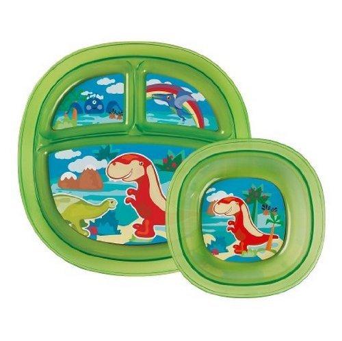 Munchkin Toddler Plate & Bowl Set - Neutral front-891371