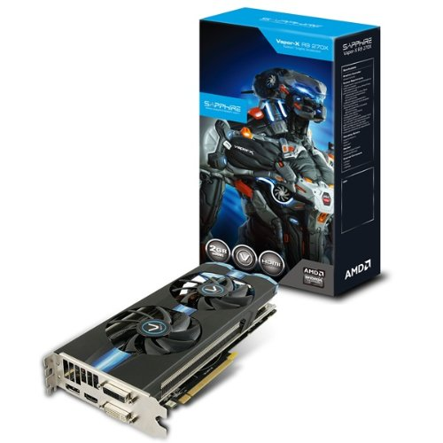 Sapphire Vapor-X Radeon R9 270X OC 2GB GDDR5 Graphics Card with Boost Black Friday & Cyber Monday 2014