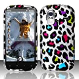 HTC Amaze 4g T-Mobile Accessory - Rainbow Leopard Spot Skin Design Case Protective Cover