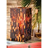 Lighting Mosaic Square Glass Candle Holder