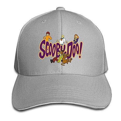 [Runy Custom Scooby Doo Adjustable Sandwich Hunting Peak Hat & Cap Ash] (Cubs Fan Costume)