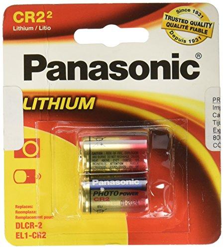 Panasonic 3-Volt Photo Lithium Cylinder 3000mAh Battery (CR2PA2B) (CR-2PA2B) (Panasonic Cr2 Lithium 3v Battery compare prices)