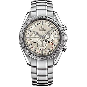Omega Men's 3581.30.00 Speedmaster Broad Arrow GMT Automatic Chronometer Chronograph Watch