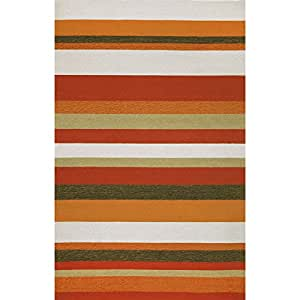 Amazon Ravella Collection Indoor Outdoor Rug Stripe