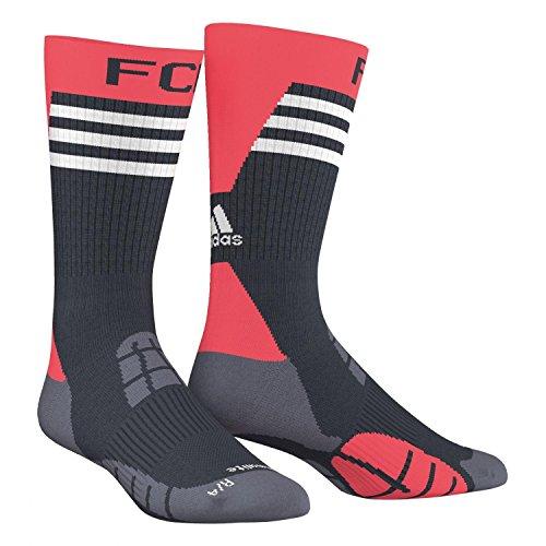 Adidas-Calze da uomo FC Bayern Training, Uomo, Socken FC Bayern Training, Night Navy/Flash Red S15/White/Onix, 46-48
