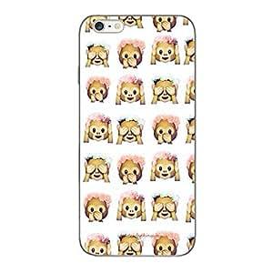 Designer Cute Phone Cover / Case for iPhone 6 Plus - Monkeys