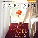Best Staged Plans: A Novel Audiobook by Claire Cook Narrated by Janet Metzger