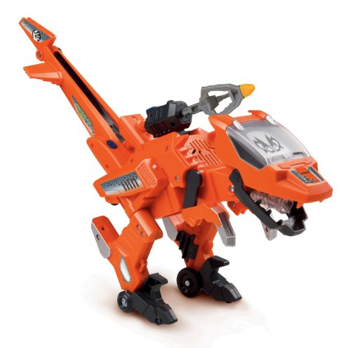 Vtech - 141405 - Véhicule Miniature - Switch & Go Dinos - Rotor le Velociraptor