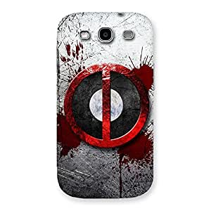 Stylish Bleed Dead Multicolor Back Case Cover for Galaxy S3