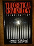 img - for Theoretical Criminology 3rd edition by Vold, George B. (1985) Hardcover book / textbook / text book