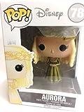 Funko Pop! Disney Movies: Maleficent #78 Aurora (Metallic Dress) Hot Topic Exclusive Figure