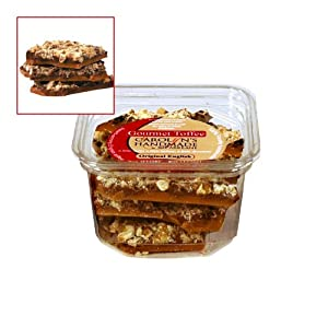 Gourmet English Toffee Deli Tub 8oz.