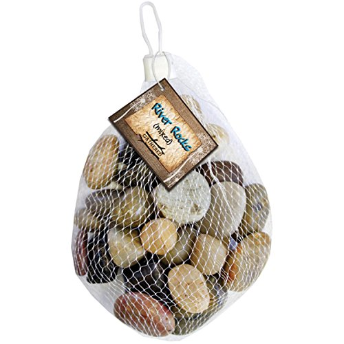 Gathered, by BCI Crafts Decorative River Rock, Mixed