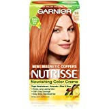 Garnier Hair Color Nutrisse Nourishing Color Creme, 74 Lightest Intense Copper (Packaging May Vary)