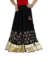 Sringar Women's Skirt (As1031_Black_40)