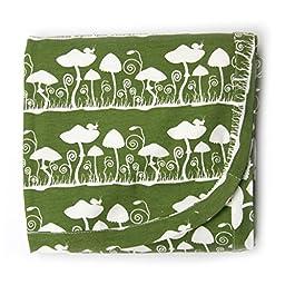 Kate Quinn Organic Receiving Blanket (Onesize, Mushroom)