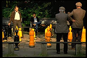 580031 Chess Players In Stadt Park Freiburg A4 Photo Poster Print 10x8