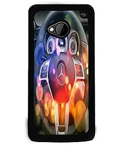 Fuson 2D Printed Designer back case cover for HTC One M7 - D4497