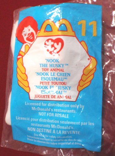 'Nook the Husky' -Ty Beanie Baby - McDonald's Happy Meal Toy #11 (1999) - 1