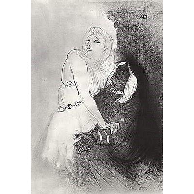Henri de Toulouse-Lautrec (Sarah Bernhardt in