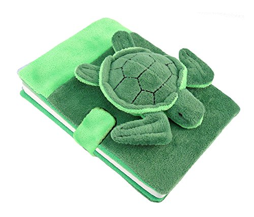 Puzzled Sea Turtle Plush Notebook
