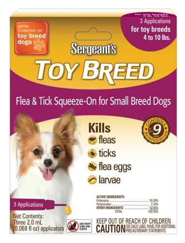 Sergeant's Flea and Tick Squeeze-On, Dog, Toy