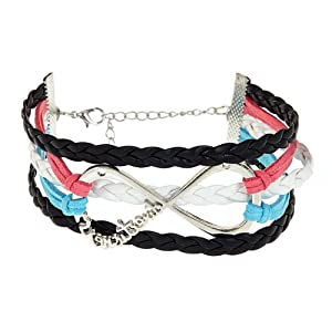 One Direction Infinity Bracelet 1D Directioner Band