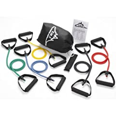 Buy Black Mountain Products Resistance Band Set (Five Bands Included) by Black Mountain