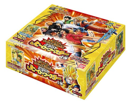 Miracle Battle Carddass 'J Hero booster one bullet' booster pack [AS01] (BOX)