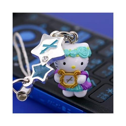 Sanrio Hello Kitty Astrologic Venus Star Charm Cell Phone Strap (Sagittarius)Japanese Import ***Free Domestic Standard Shipping for This Item***