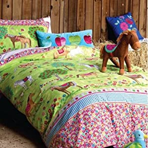 Horses Duvet Cover Set Single