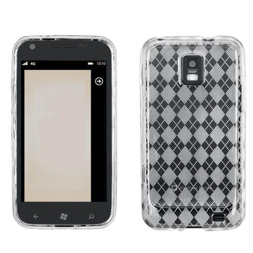 Samsung I937 Focus S Soft Skin Case Diamond Pattern