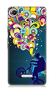 Micromax Unite 3 Q372 3Dimensional High Quality Designer Back Cover by 7C
