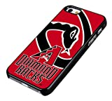 Migreat Gear Design MLB Team Arizona Diamondbacks Logo Iphone 5/5s Plastic Hard Cover Case-a15 at Amazon.com