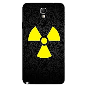RADIATION SIGN BACK COVER FOR SAMSUNG GALAXY NOTE 3 NEO