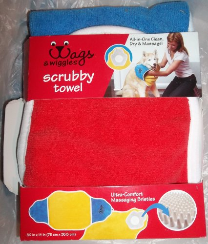 Wags & Wiggles scrubby towel multi color Picture