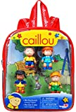 Caillou Mini Backpack with Figures (styles may vary)