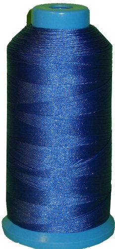 Royal Blue Bonded Nylon Sewing Thread Size #138 T135 1250 Yard for Outdoor, Leather, Bag, Shoes, Canvas, Upholstery