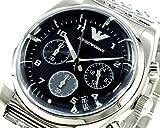 エンポリオ アルマーニ《EMPORIO ARMANI》クロノグラフ腕時計AR0373メンズ