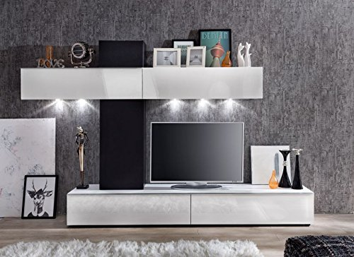 Furnline Living Room Furniture Set Tv Stand Wall Unit