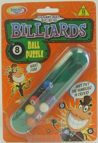 Billiards 8 Ball Puzzle