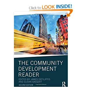 The Community Development Reader James DeFilippis and Susan Saegert