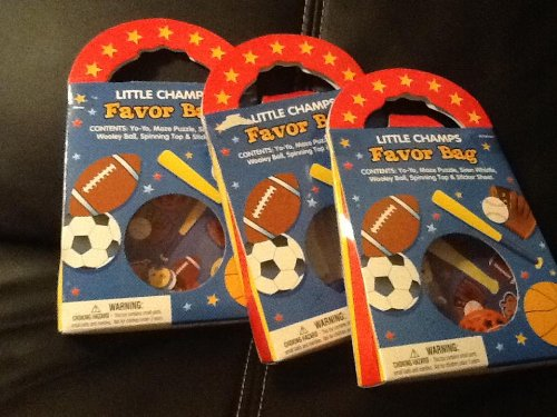 Little Champs Favor Bags