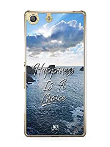 YuBingo Happiness is a Choice Designer Mobile Case Back Cover for Sony Xperia M5