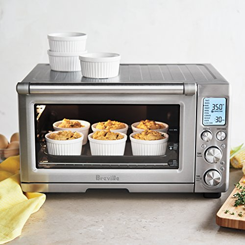 Breville BOV845BSS Smart Oven Pro Convection Toaster Oven with Element ...