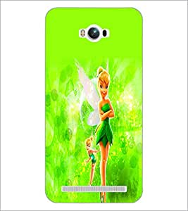 PrintDhaba Cute Doll D-2111 Back Case Cover for ASUS ZENFONE MAX ZC550KL (Multi-Coloured)