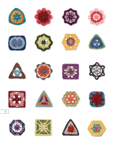 Go Crochet! Afghan Design Workbook: 50 Motifs, 10 Projects, 1 of a